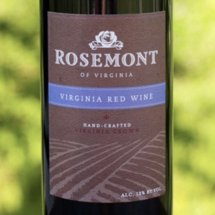 Rosemont Winery Virginia Red Wine
