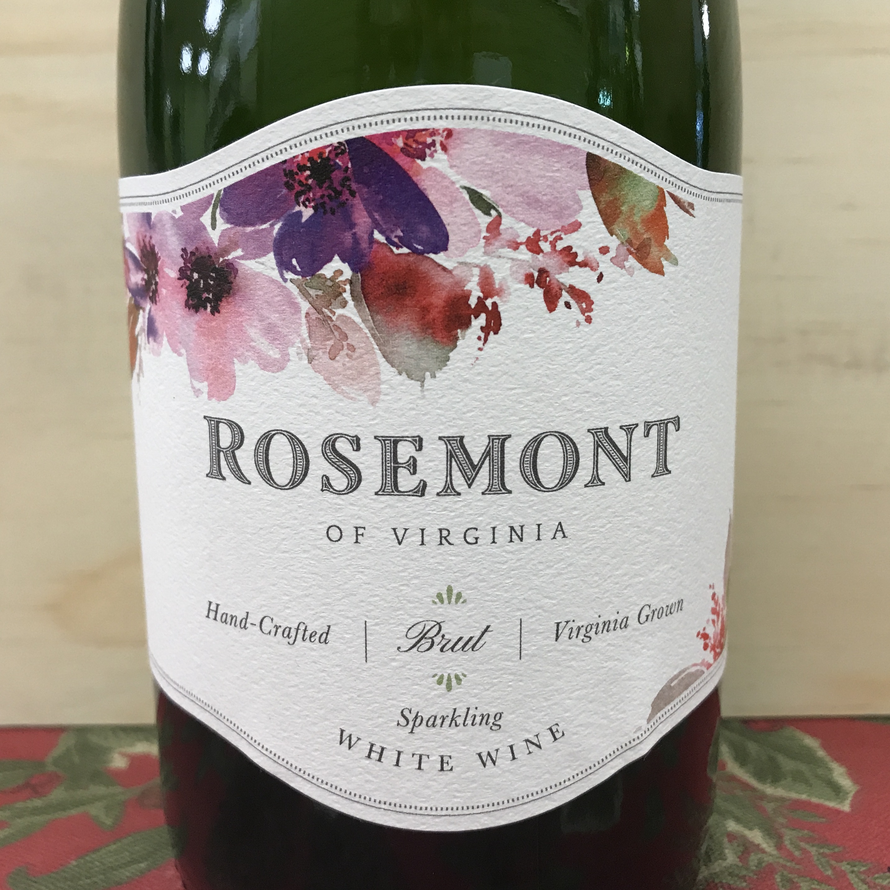 Rosemont Winery Sparkling White Wine Brut NV