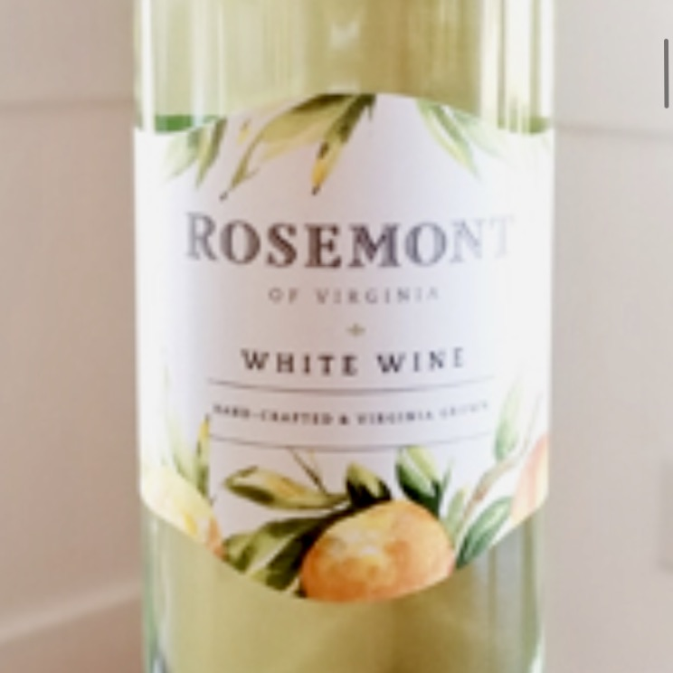 Rosemont Winery Virginia White Wine