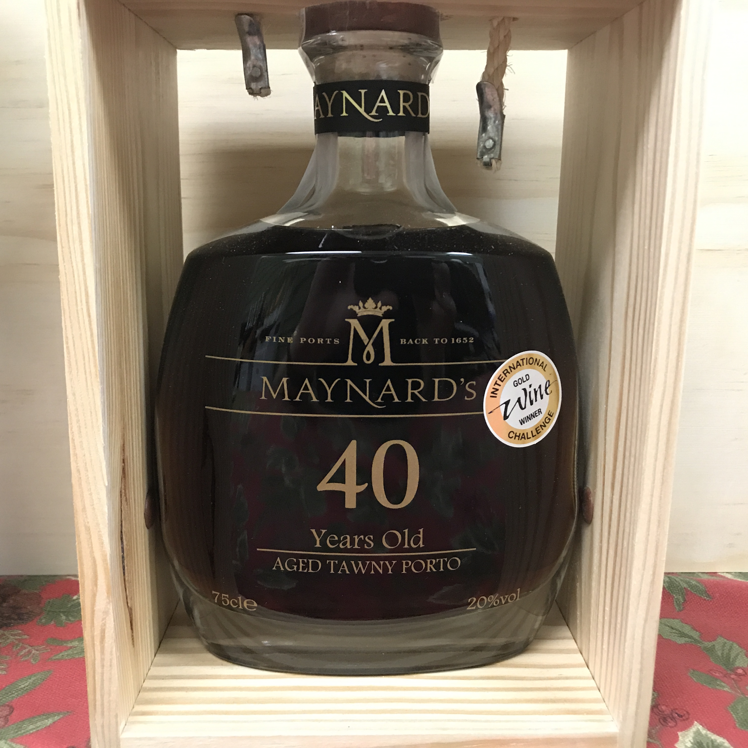 Maynard's 40 year old Aged Tawny Port