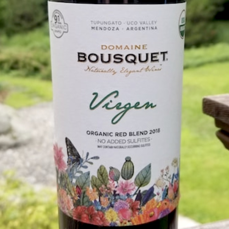Domaine Bousquet Virgen Organic Red Blend 2019