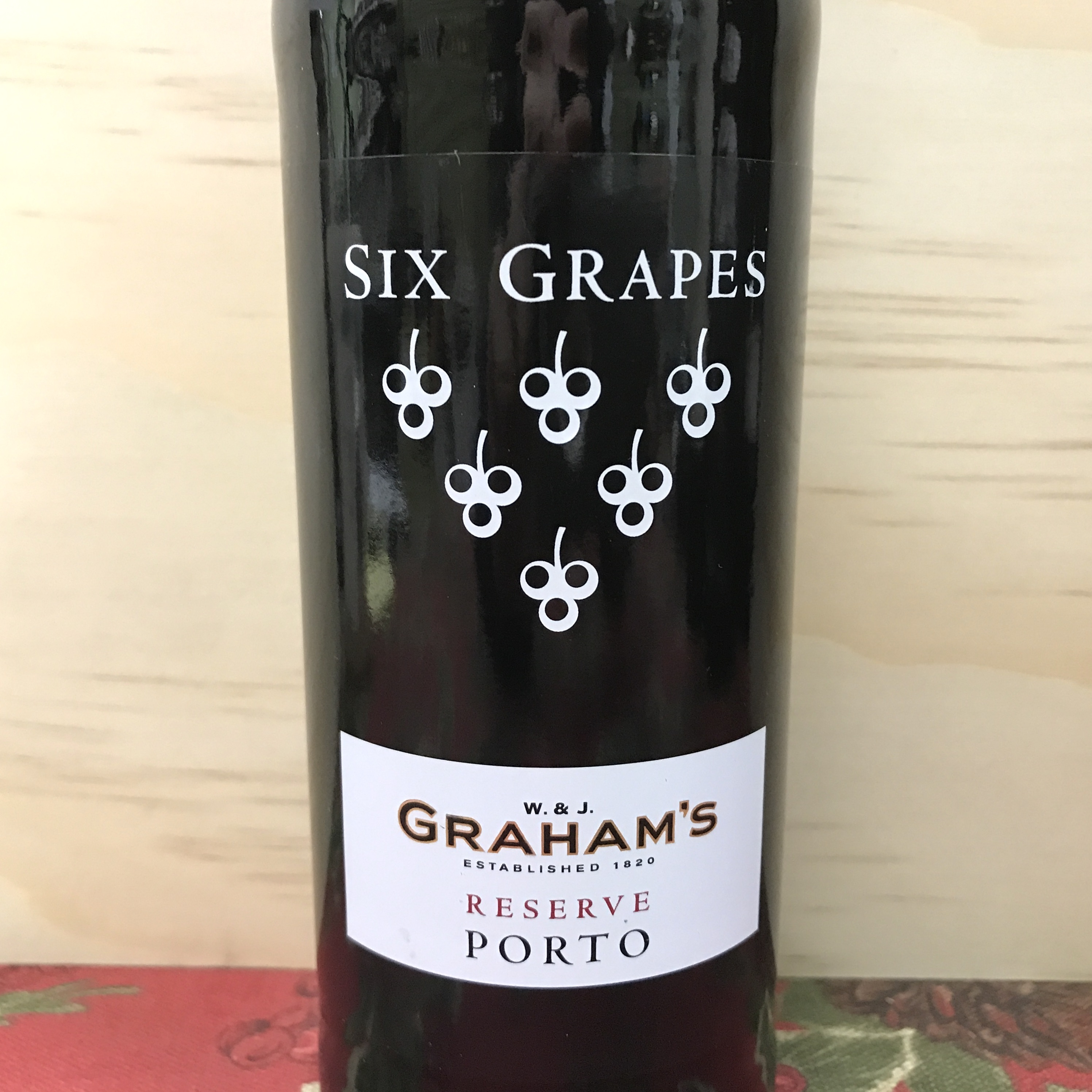 Graham's Six Grapes Reserve Port 375 ml