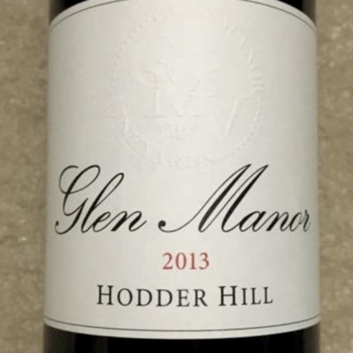Glen Manor Hodder Hill red blend 2014