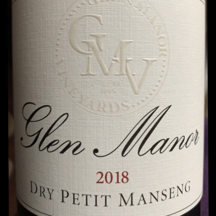 Glen Manor Petit Manseng 2018