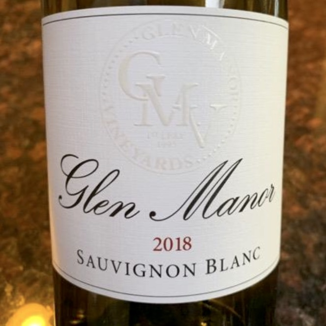 Glen Manor Sauvignon Blanc 2018