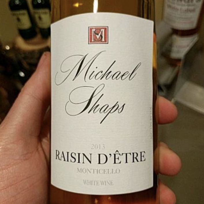 Michael Shaps Raisin d'Etre White 2013