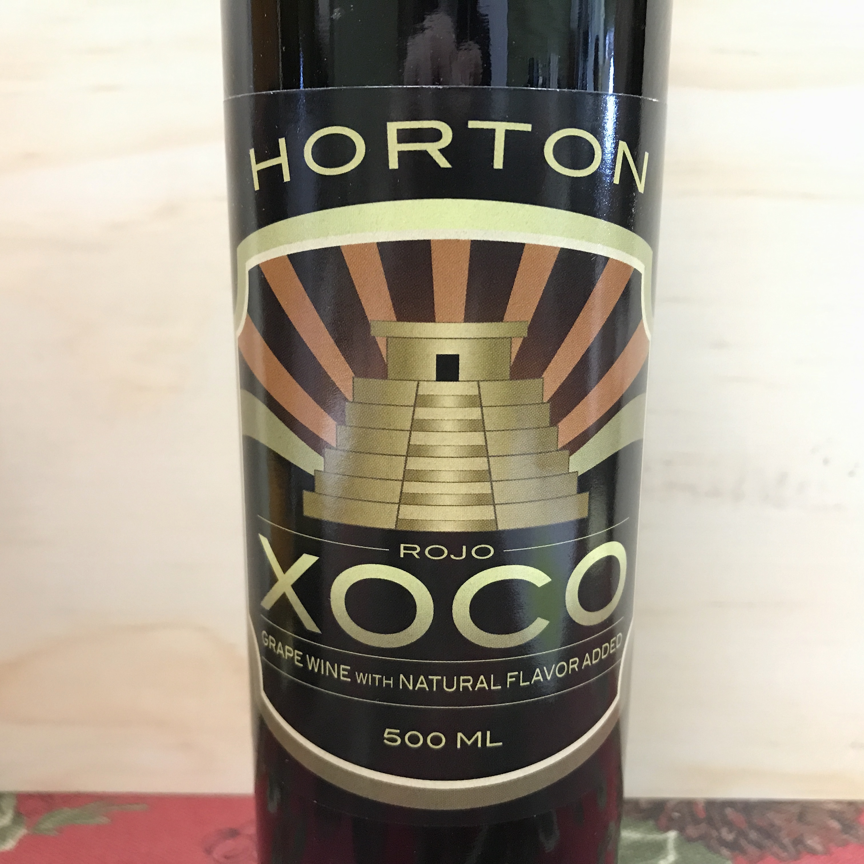 Horton Vineyards Xoco Rojo desert red