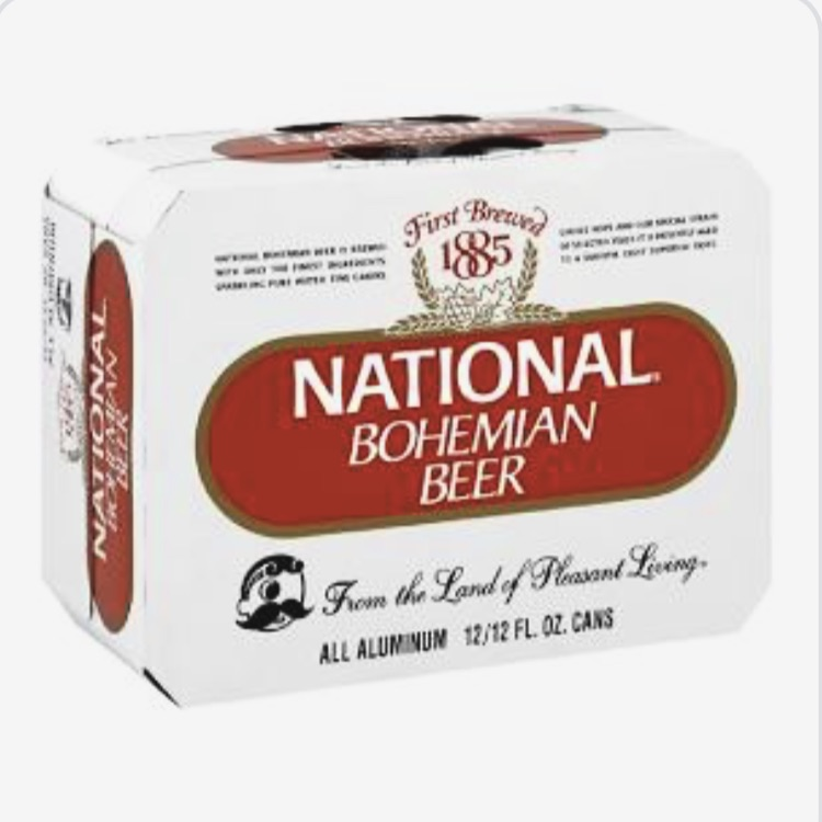 National Bohemian Beer 2/12pk 24 cans