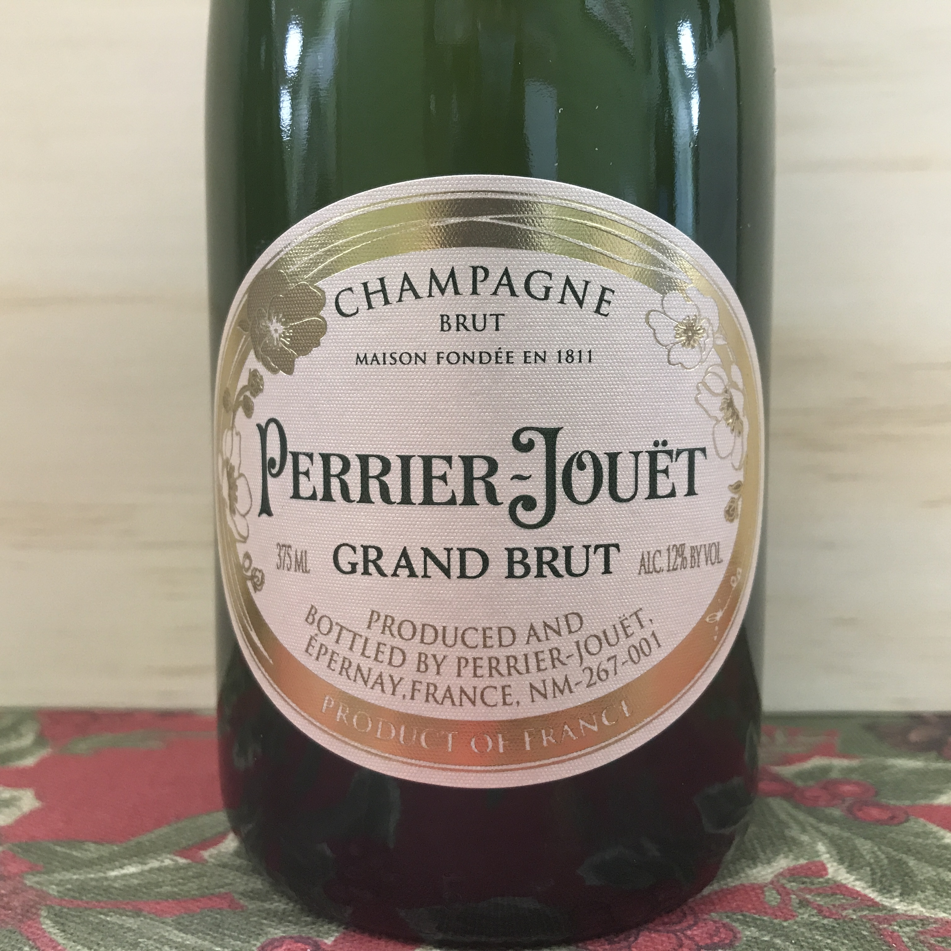 Perrier-Jouët Grand Brut Champagne 375 ml