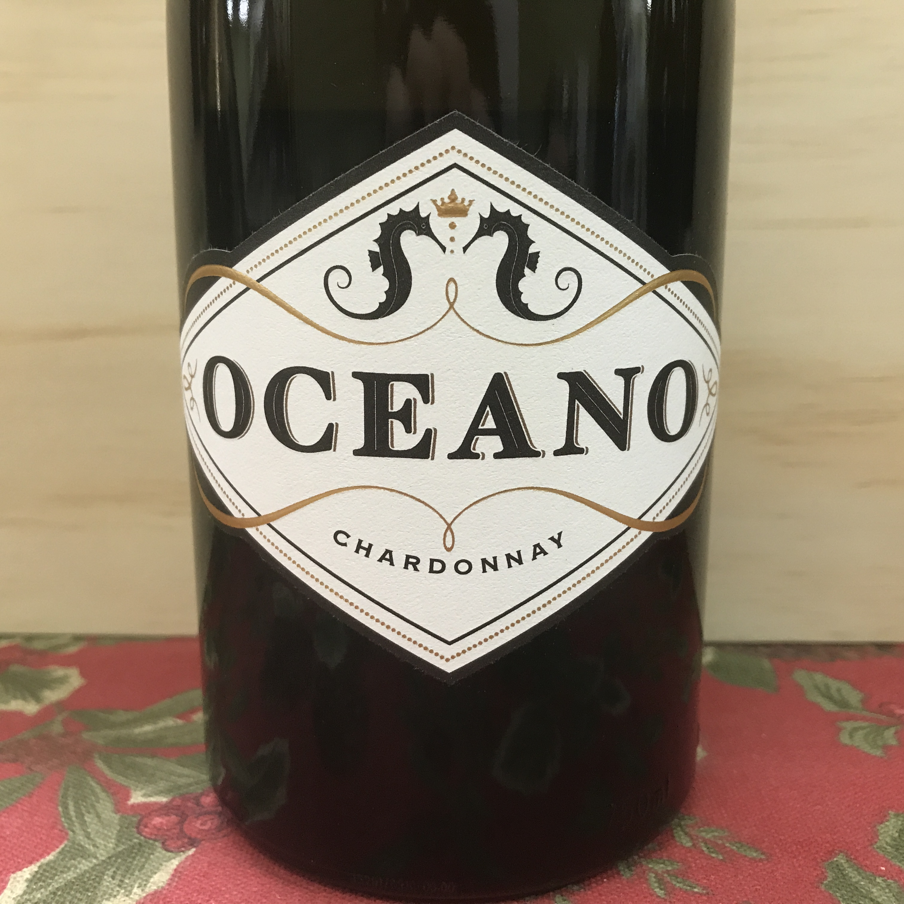 Oceano Chardonnay Spanish Springs Vineyard 2017