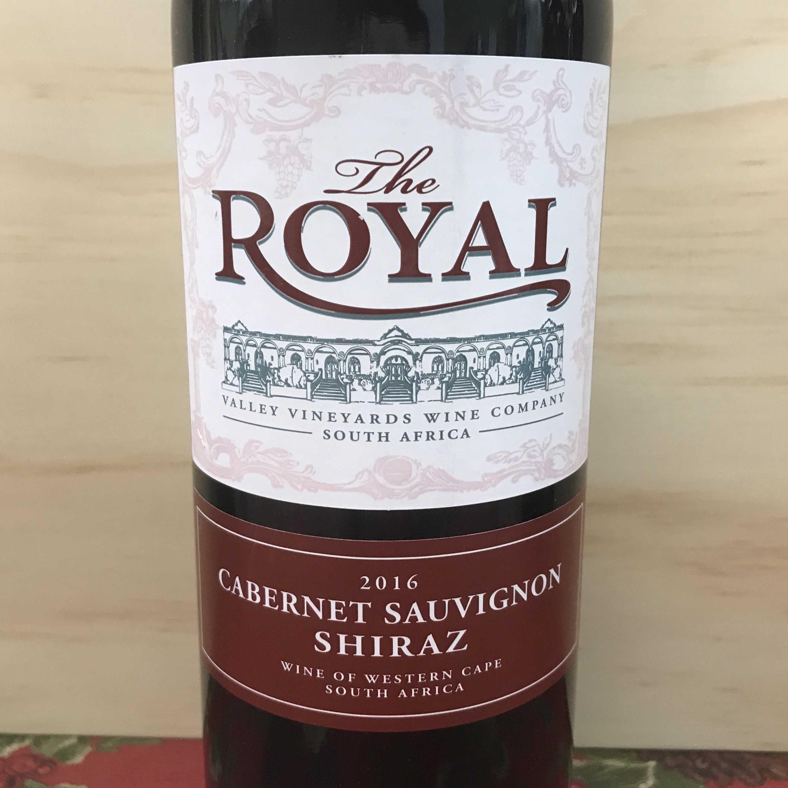 Royal Shiraz-Cabernet 2016 South Africa