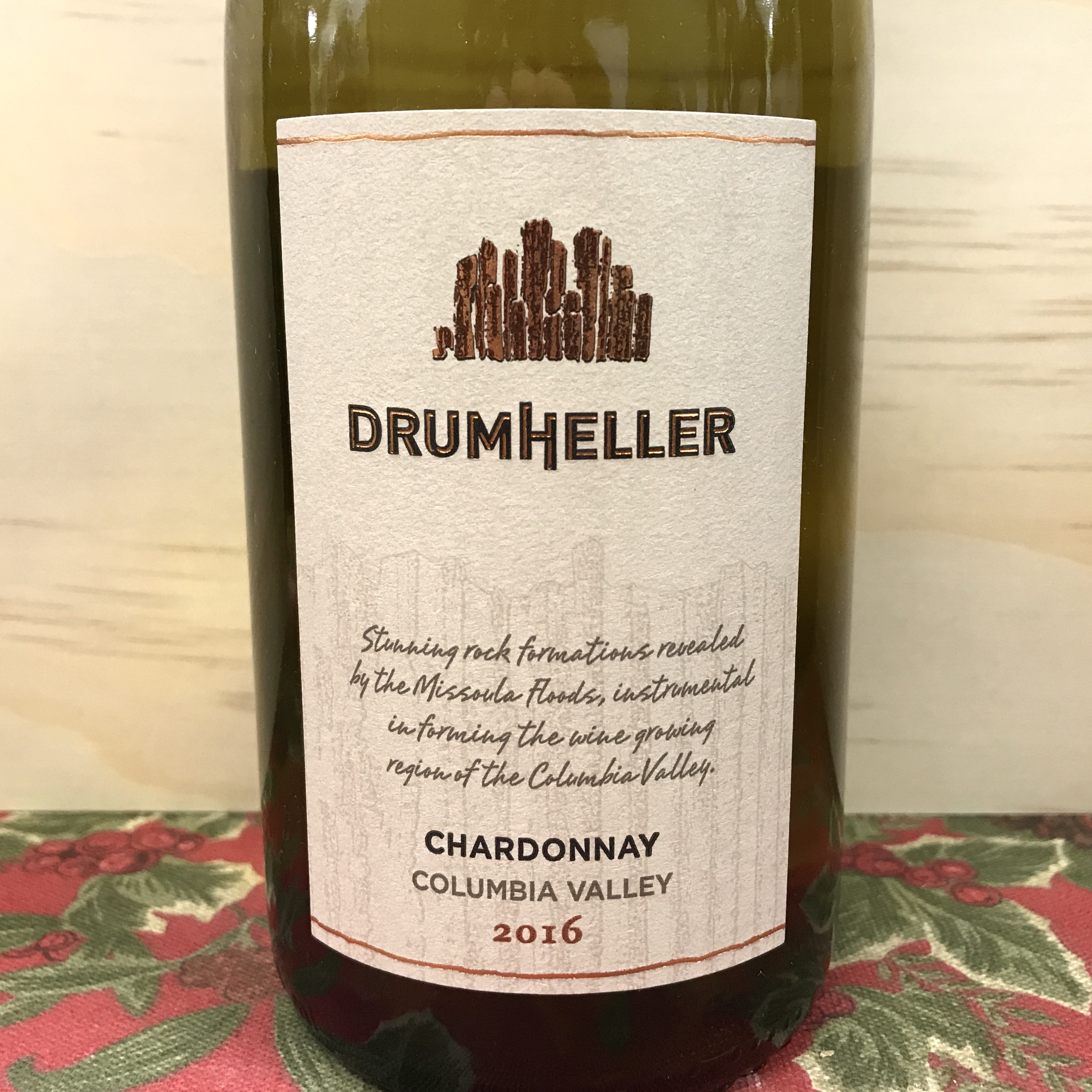 Drumheller Chardonnay Columbia Valley 2016