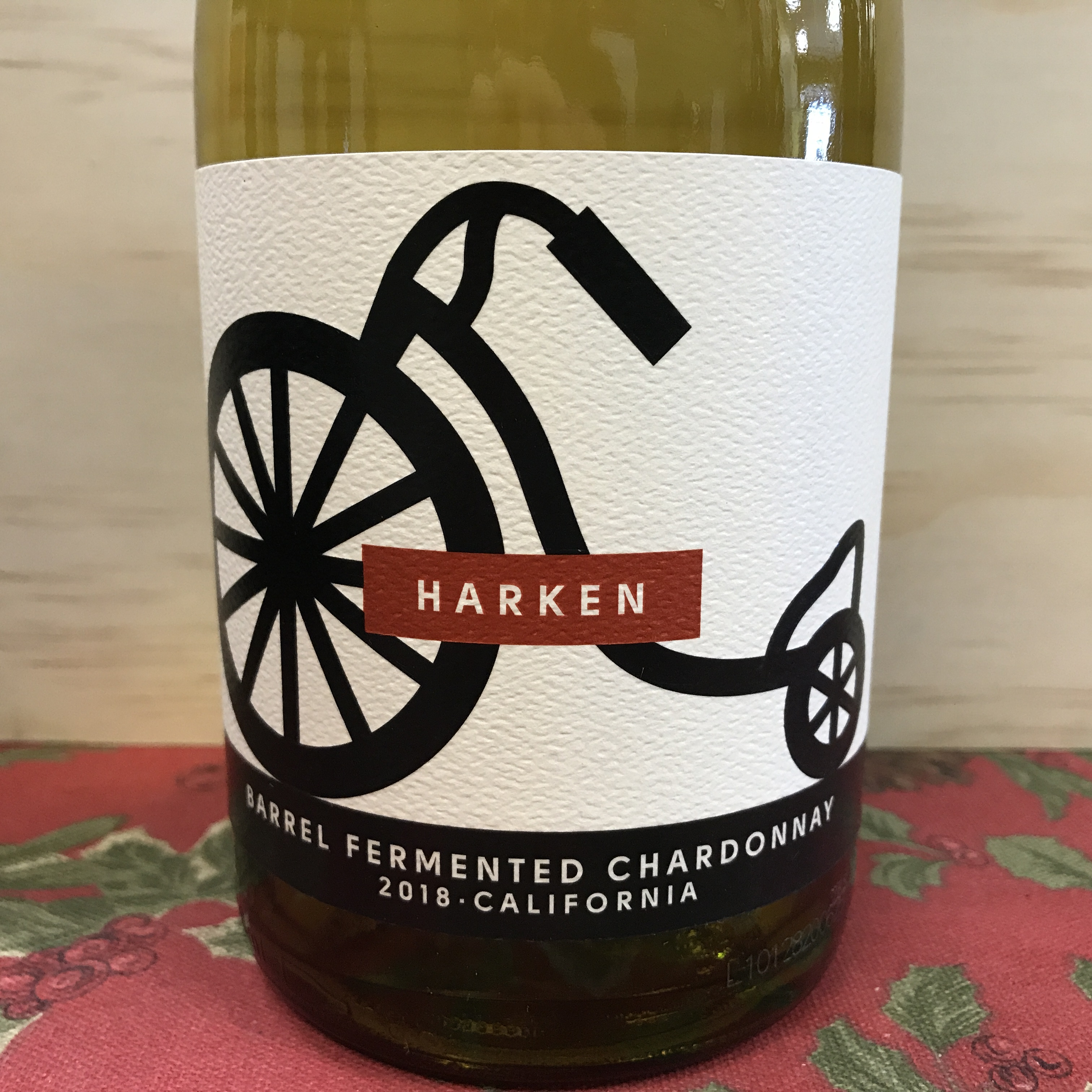 Harken Barrel Fermented Chardonnay 2018 California
