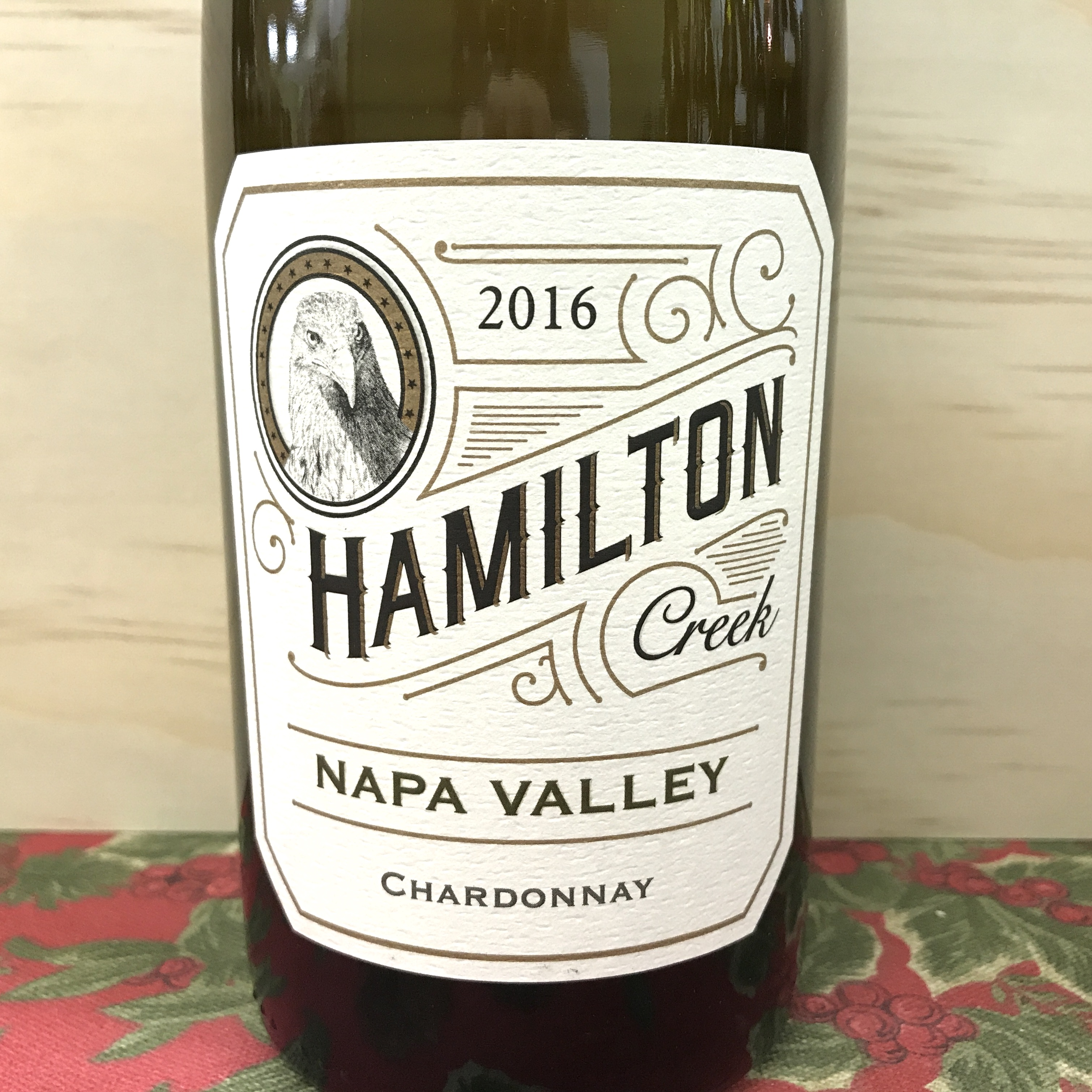 Hamilton Creek Napa Valley Chardonnay 2016