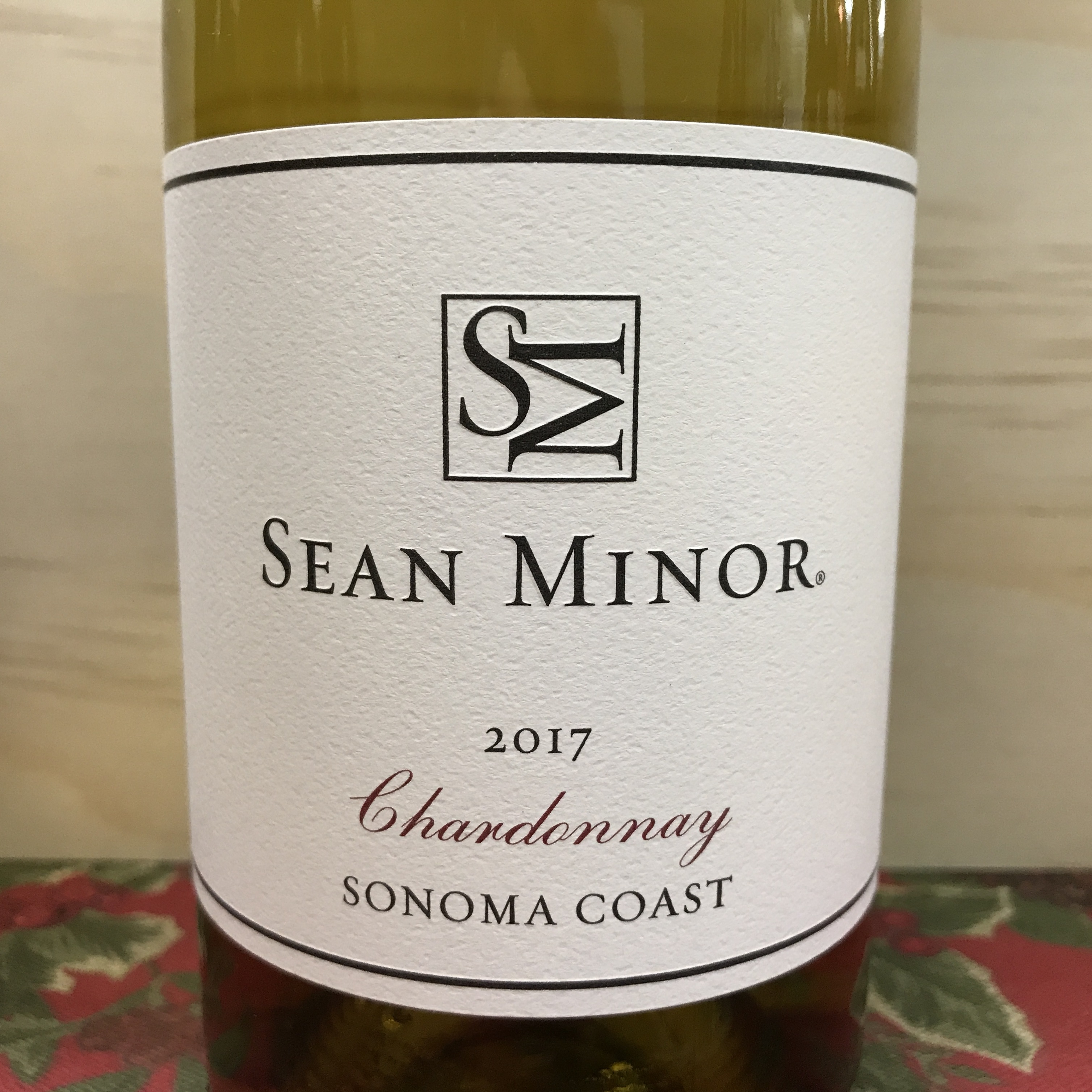 Sean Minor Chardonnay Sonoma Coast 2017