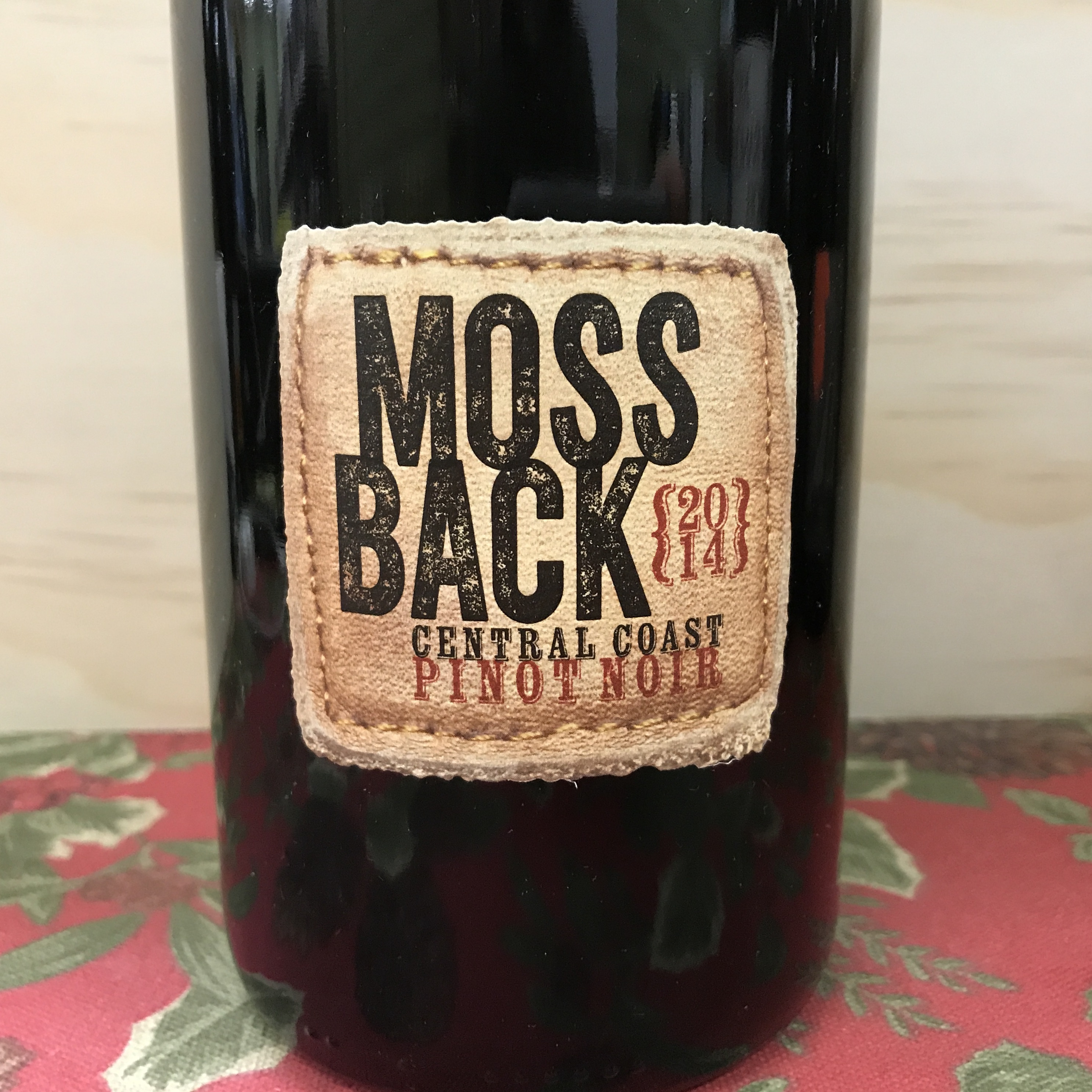 Mossback Pinot Noir Central Coast 2014