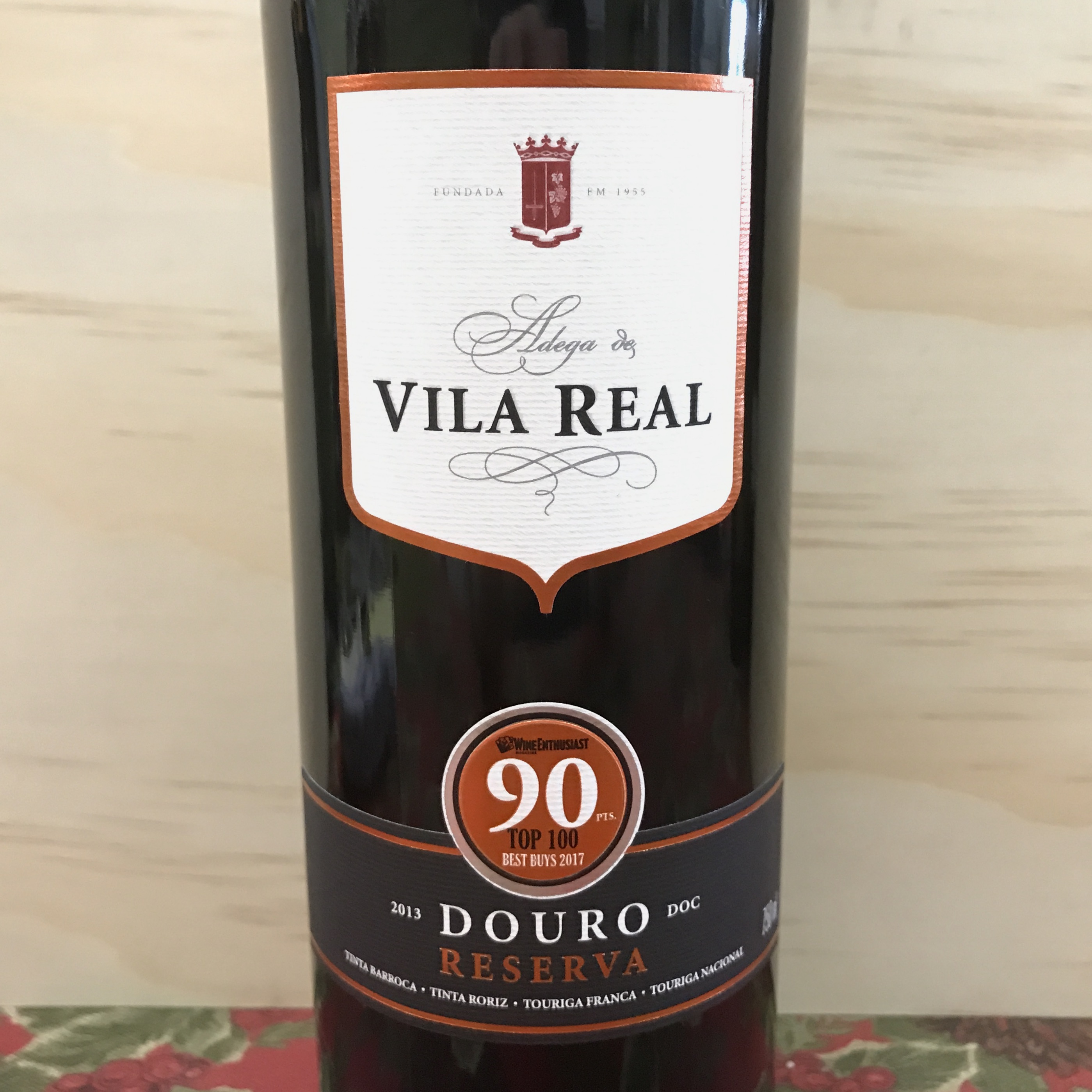 Vila Real Douro Reserva Red 2013