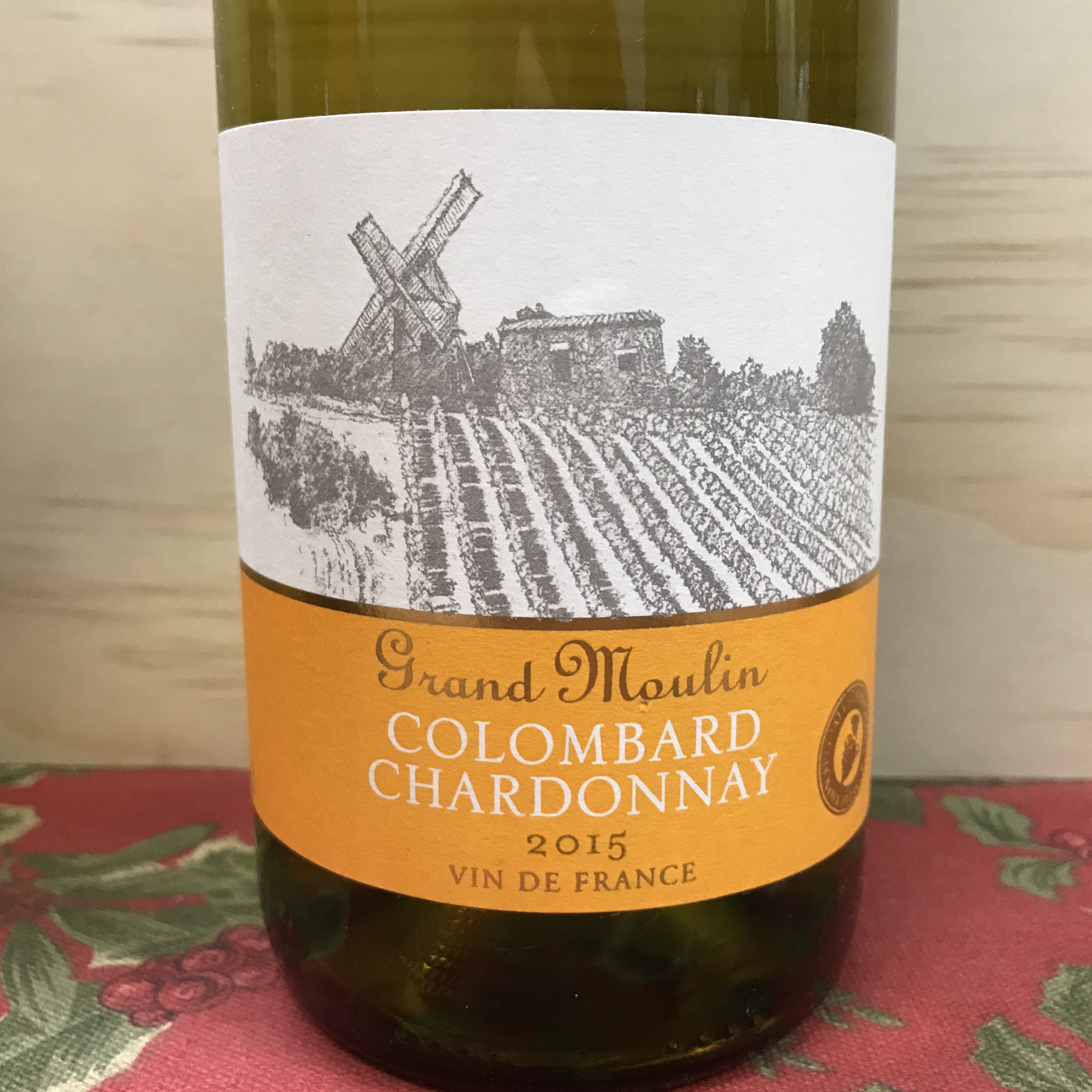 Grand Moulin Colombard Chardonnay 2015