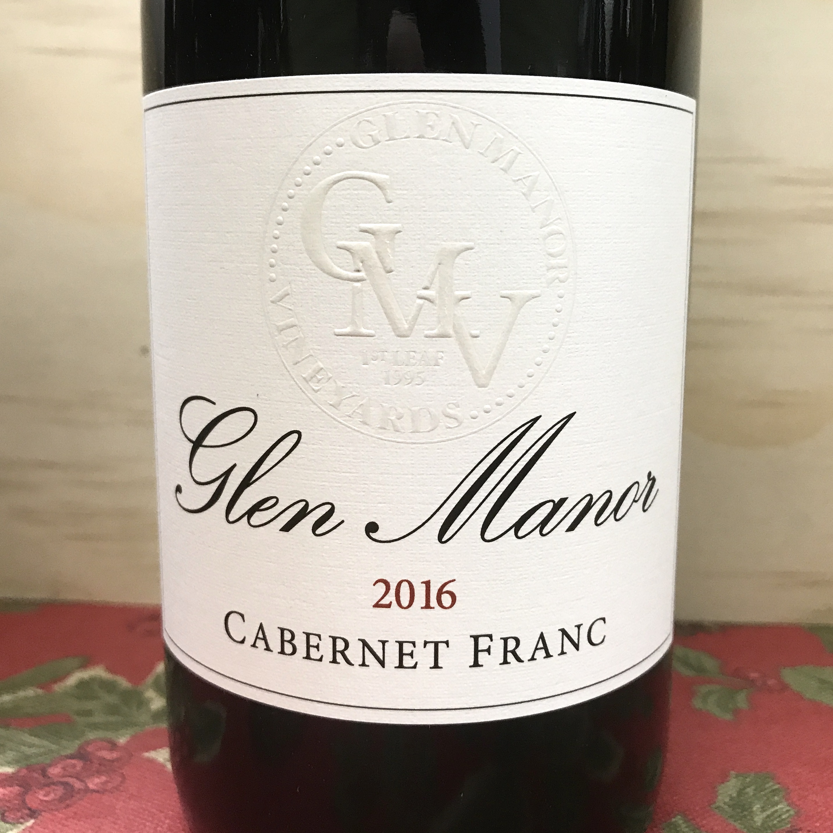 Glen Manor Cabernet Franc 2016