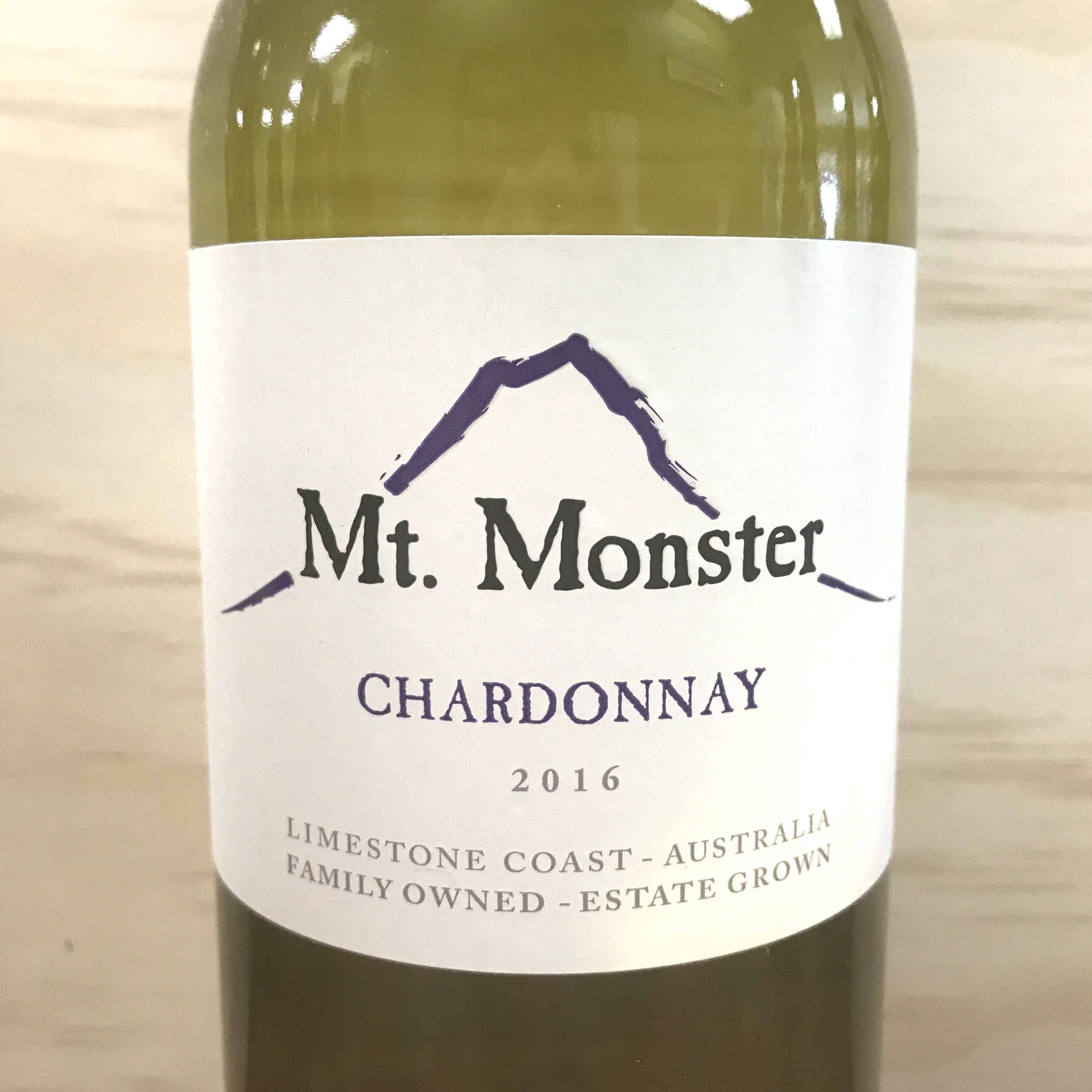 Mt.Monster Chardonnay Limestone Coast 2016