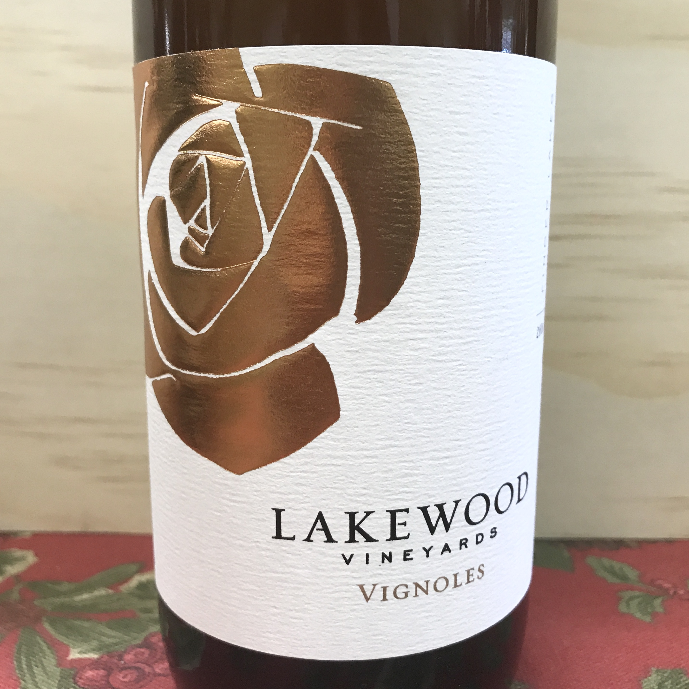 Lakewood Vineyards Vignoles 2016