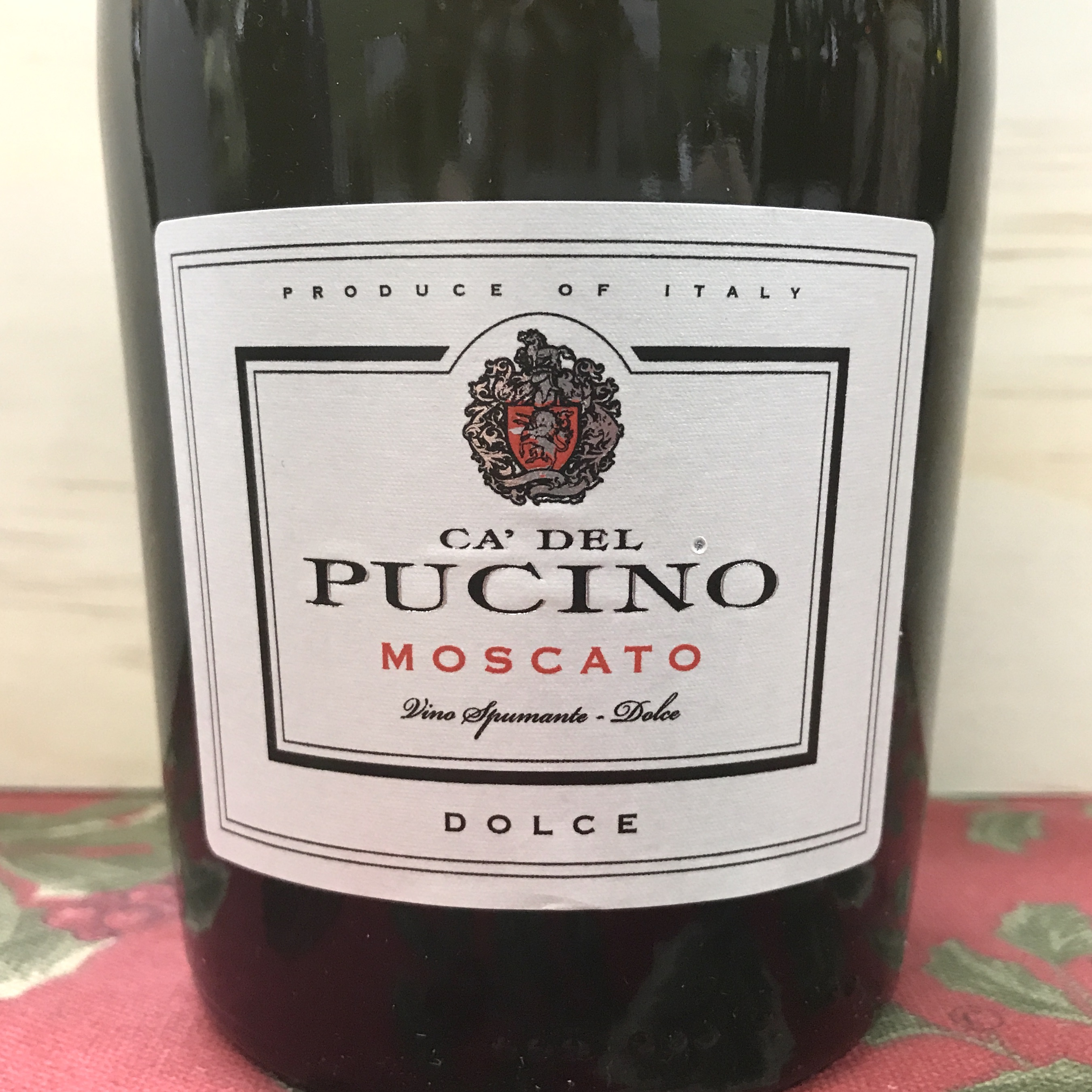 Ca' Del Pucino Moscato Dolce (sweet)