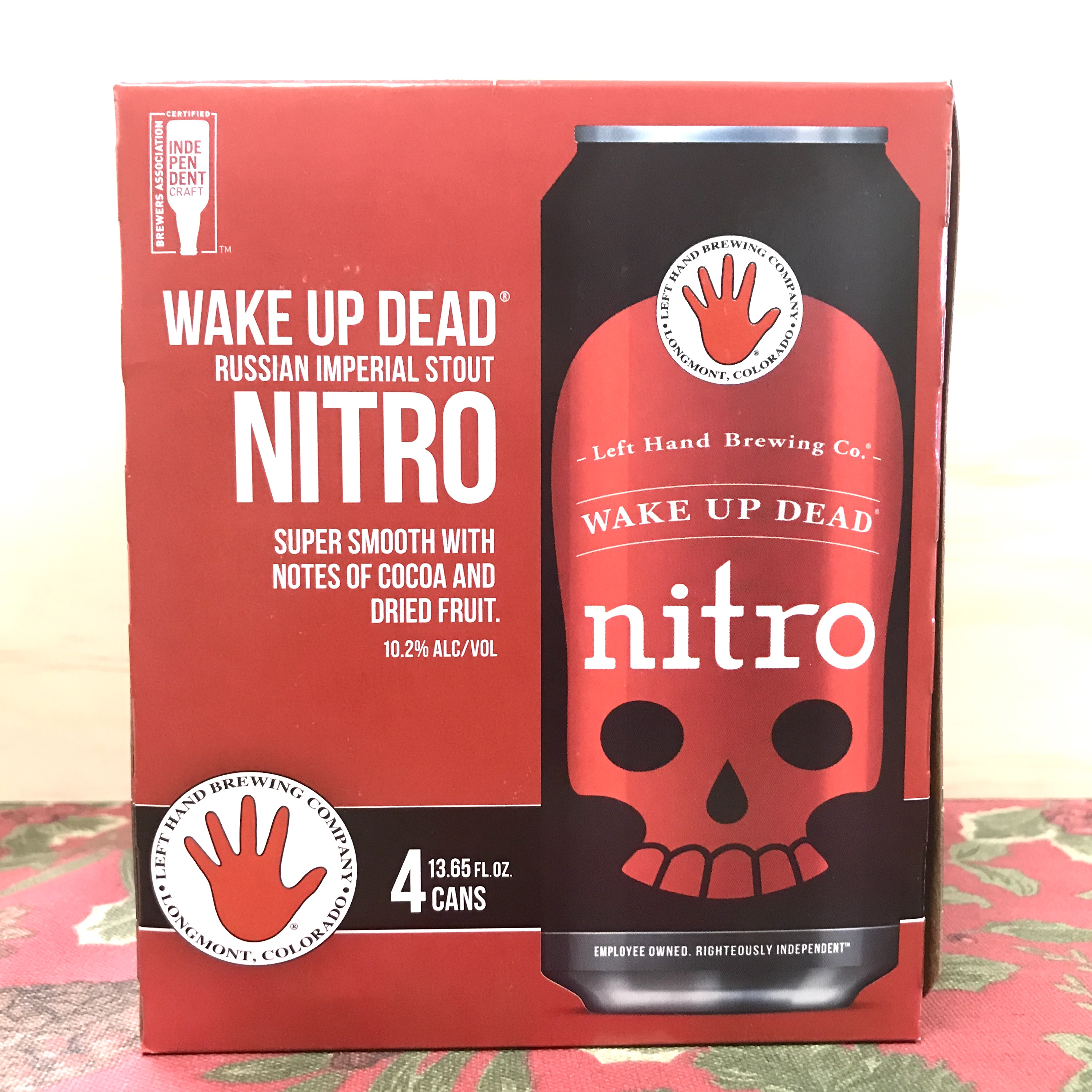 Left Hand Brewery Wake Up Dead Russian Imperial Nitro Stout