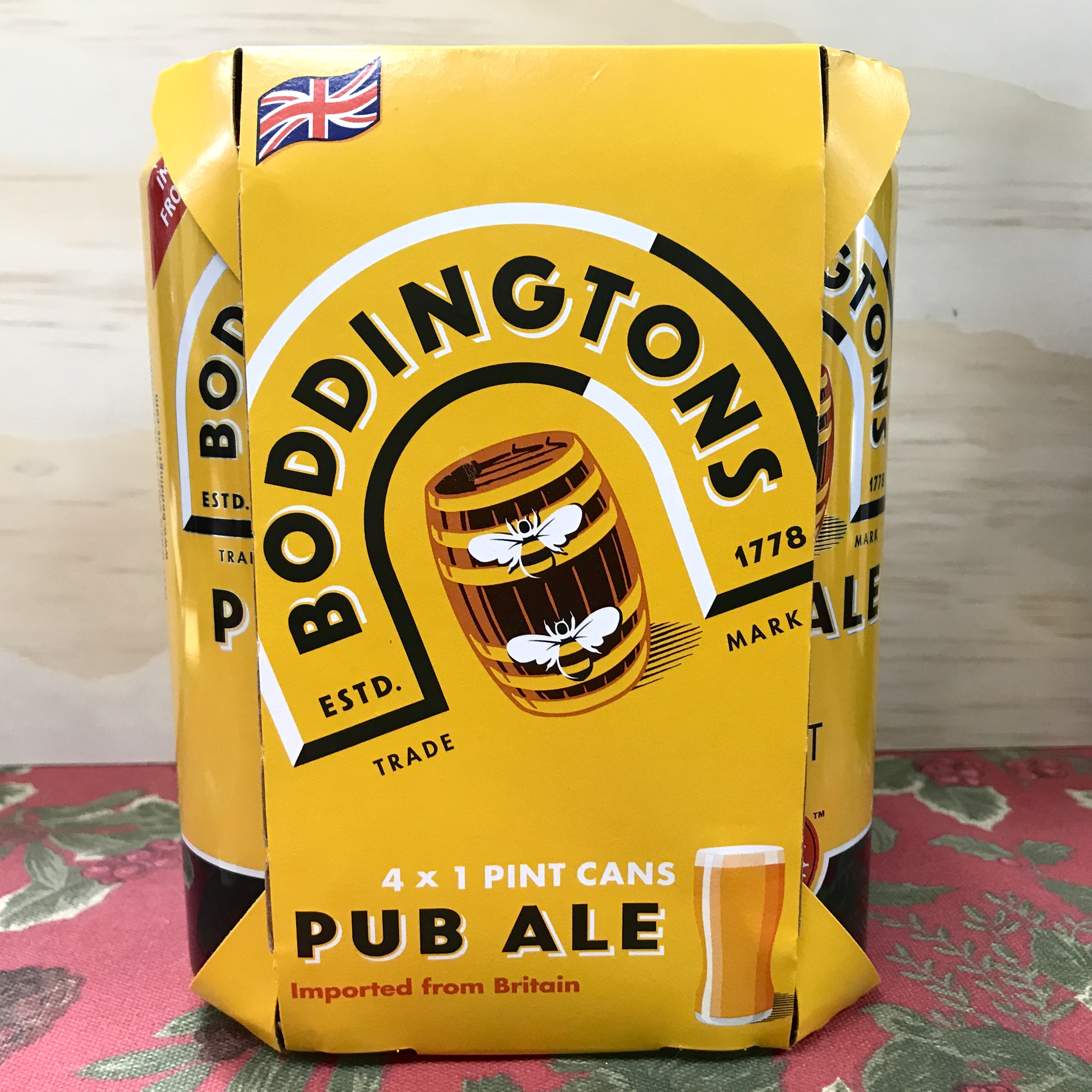 Boddingtons Pub Ale 4 x 16 oz cans