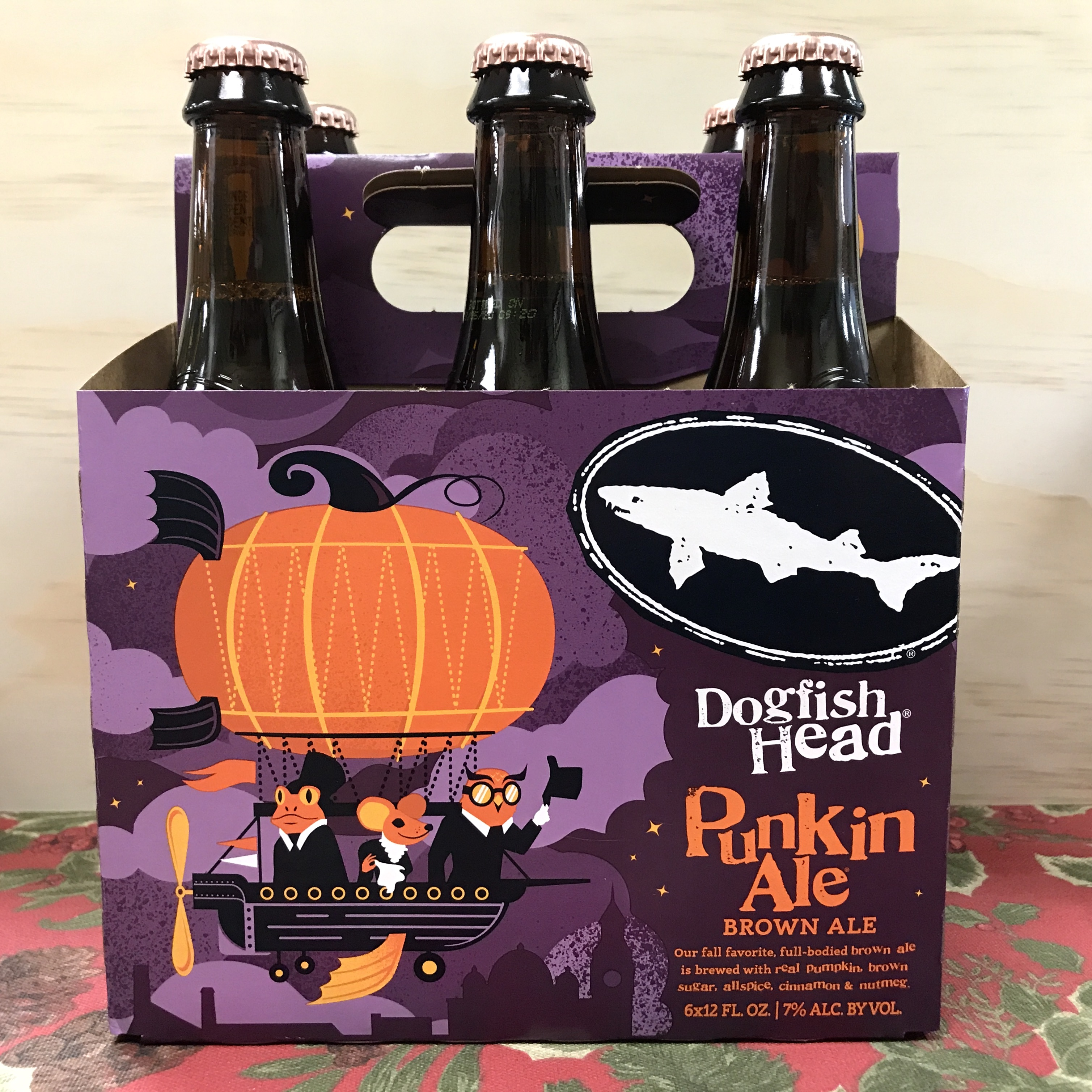 Dogfish Head Punkin Ale Brown Ale 6 x 12 oz bottles