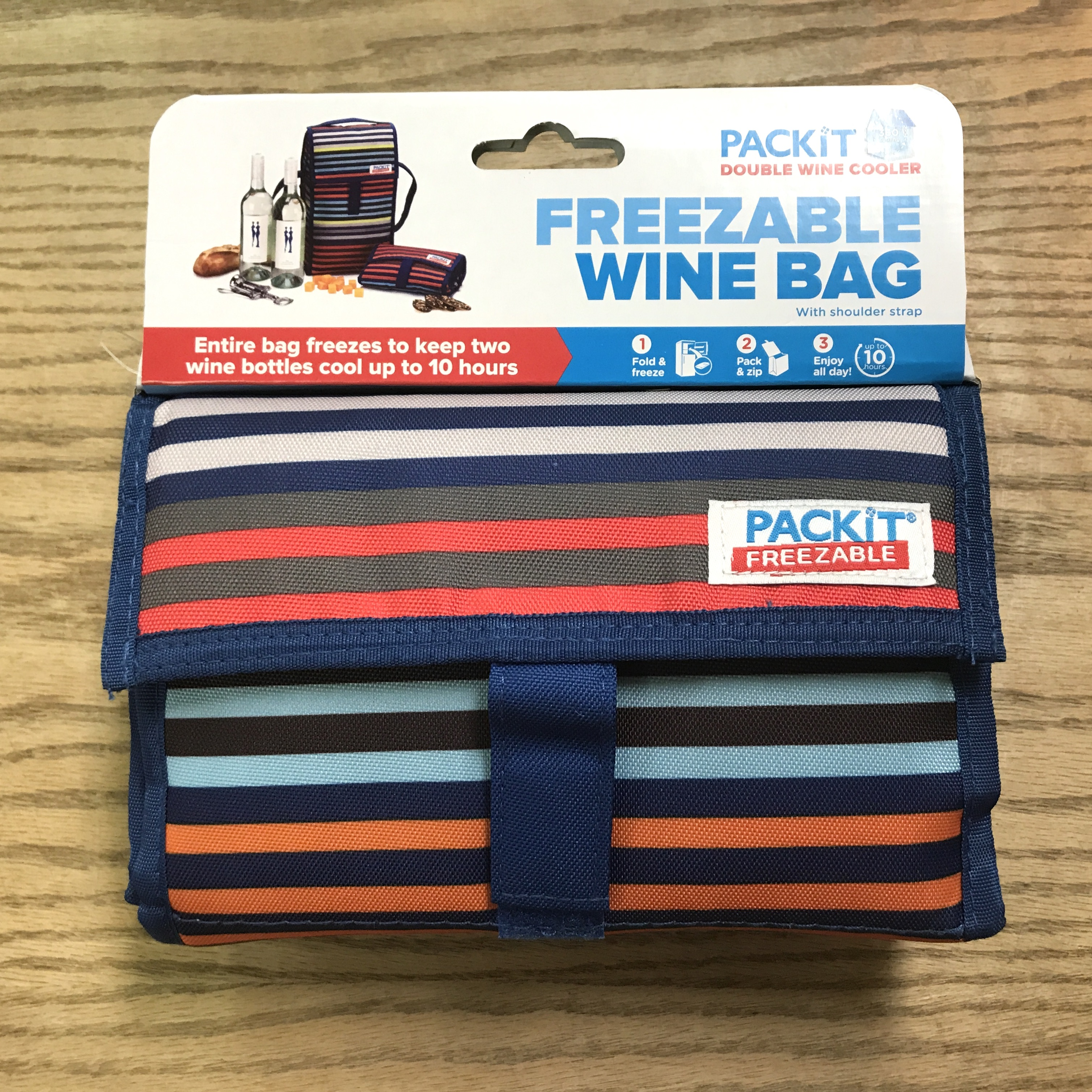 Pack It Freezable Double Wine bag cooler