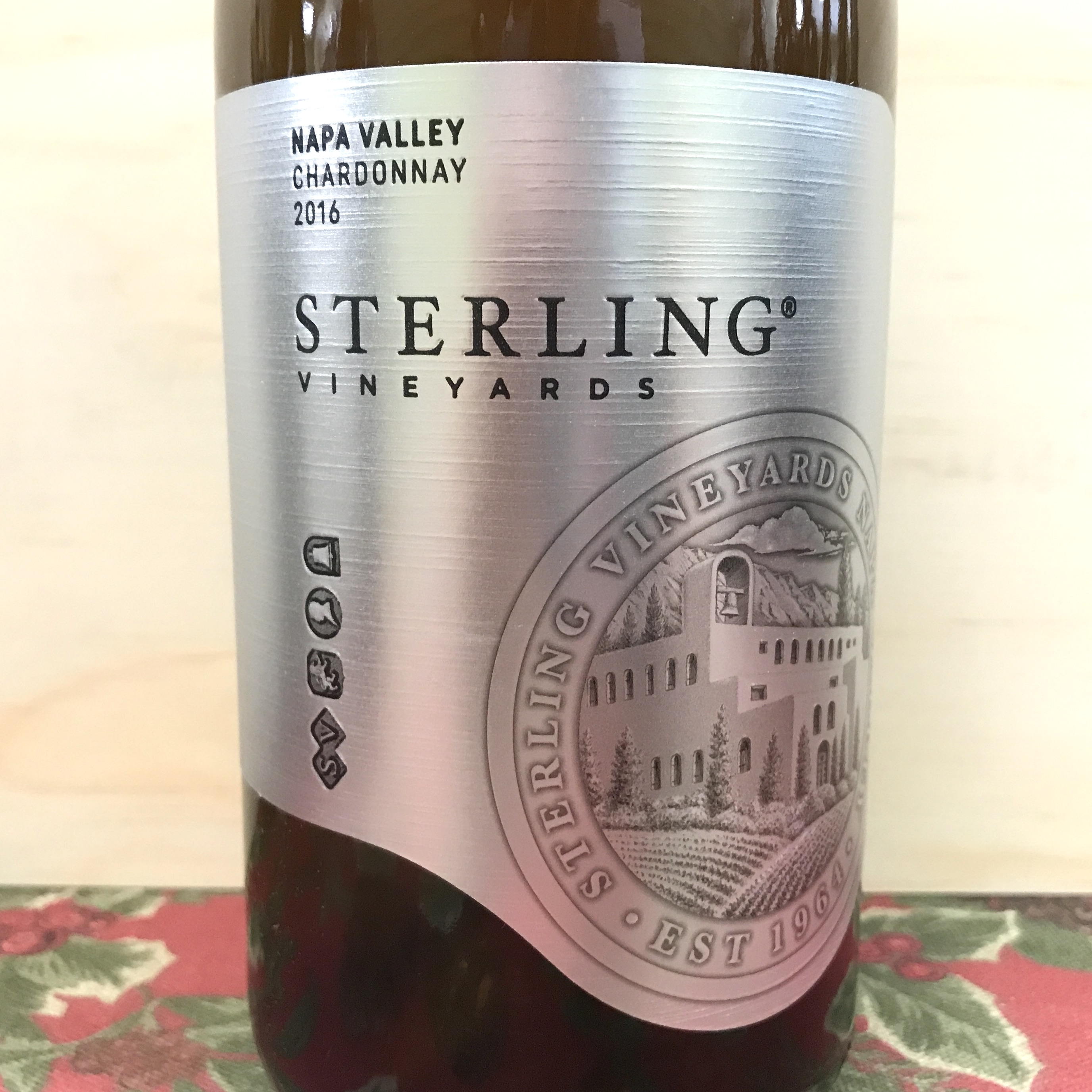 Sterling Napa Valley Chardonnay 2016