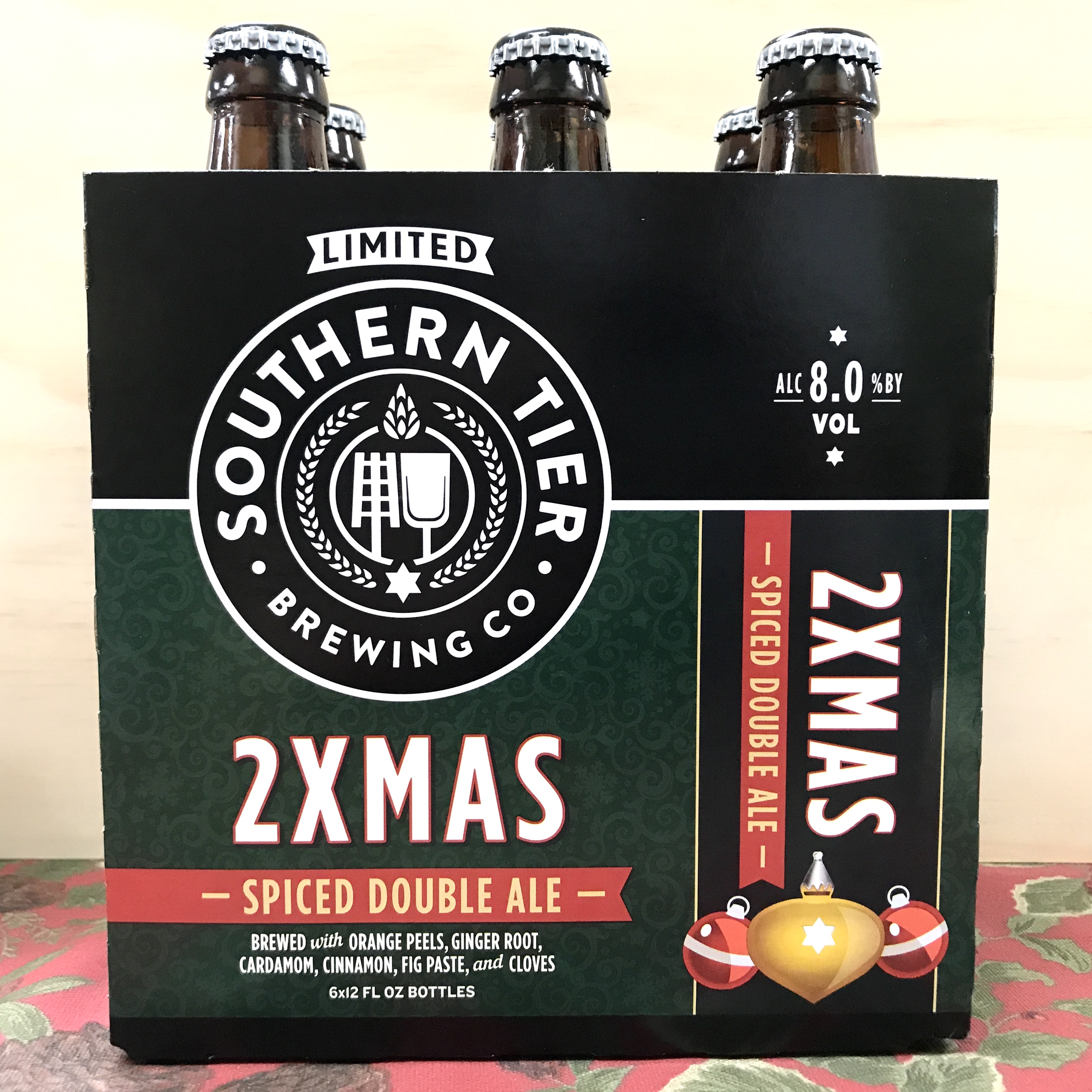 Southern Tier 2 Xmas Spiced Double Ale 6 x 12 oz